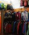 Foto predajne mikiny vetrovky ruksaky